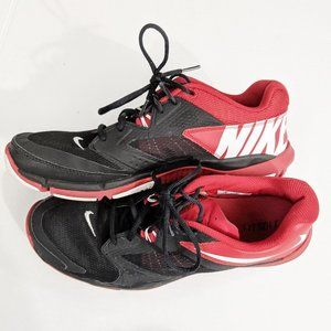 Nike Flex Supreme Red and Black Tanning shoes |12